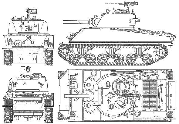 модели танка M4A3(105)